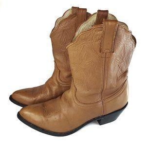Durango Low Rider Women's 9W Western Cowboy Boots Tan RD632